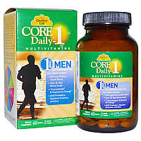 Core Daily-1, Мультивитамины для мужчин, 60 таблеток