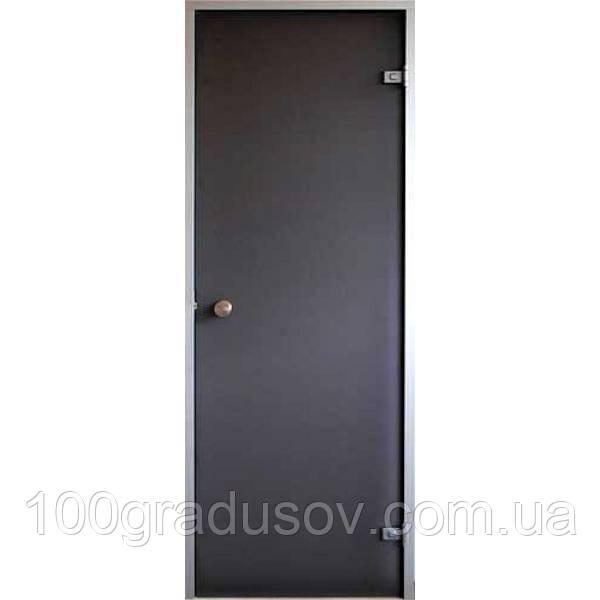 Двери для хамама Saunax classic (бронза 70х200)