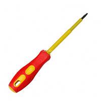 Отвертка изолированная шлицевая e.tool.st.404 (0.8×4×100 мм), E.NEXT, t009002