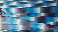 Бейка-резинка (стрейчевая бейка) с рисунком, 1,5 см, 30 ярд/уп, 17