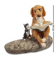 "Статуэтка ""Кошка с собакой"" ED-253. Символ 2018"