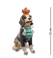 """Декоративная статуэтка """"Собака Луи"""" NS-172. Символ 2018"""