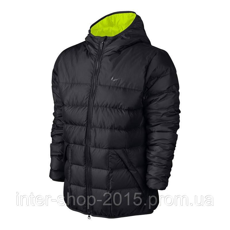 6e83b35d Мужской пуховик Nike Alliance Hood Down Jacket 626919-010: продажа ...