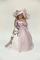 Кукла сувенирная, фарфоровая, коллекционная 45 см