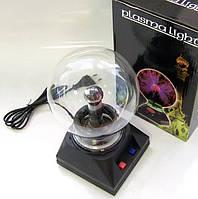 Плазменный шар, размер 8 дюйма 20,32 см, плазма шар магический шар Тесла Катушка Тесла