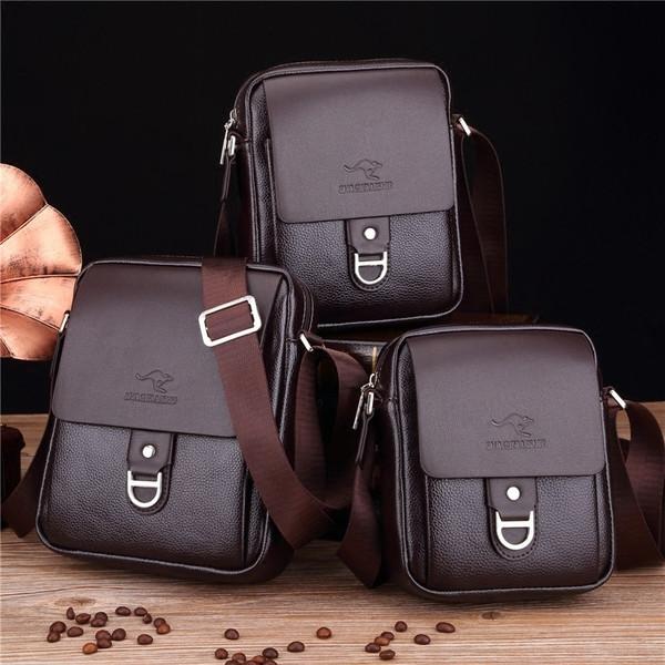 Чоловіча шкіряна сумка. Модель 63237