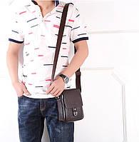 Чоловіча шкіряна сумка. Модель 63237, фото 2