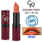 Губная помада Golden Rose Velvet Matte №21, фото 2
