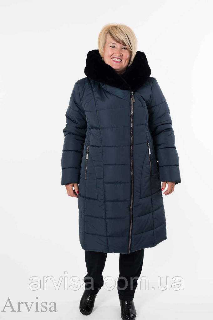 Зимнее женское пальто куртка