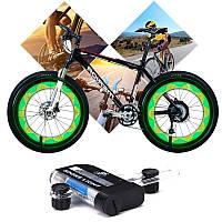 Подсветка для колёс велосипеда 22 диодов. Подсветка на спицы 15 рисунков.