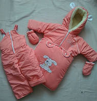 Зимний комбинезон от рождения до 2 лет, цвета разные, для девочек и мальчиков!