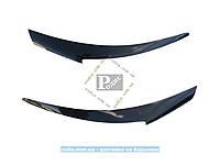 Реснички Hyundai Accent/Solaris I 2011–2014 Накладки на фары ANV Хюндай Акцент/Солярис