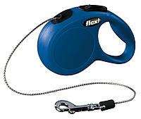 FLEXI NEW CLASSIC XS 3м/8кг, трос - поводок-рулетка для собак мелких пород (4 цвета)