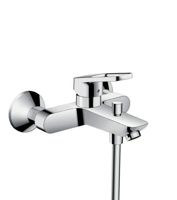 Logis Loop Змішувач для ванни одноважільний, хром