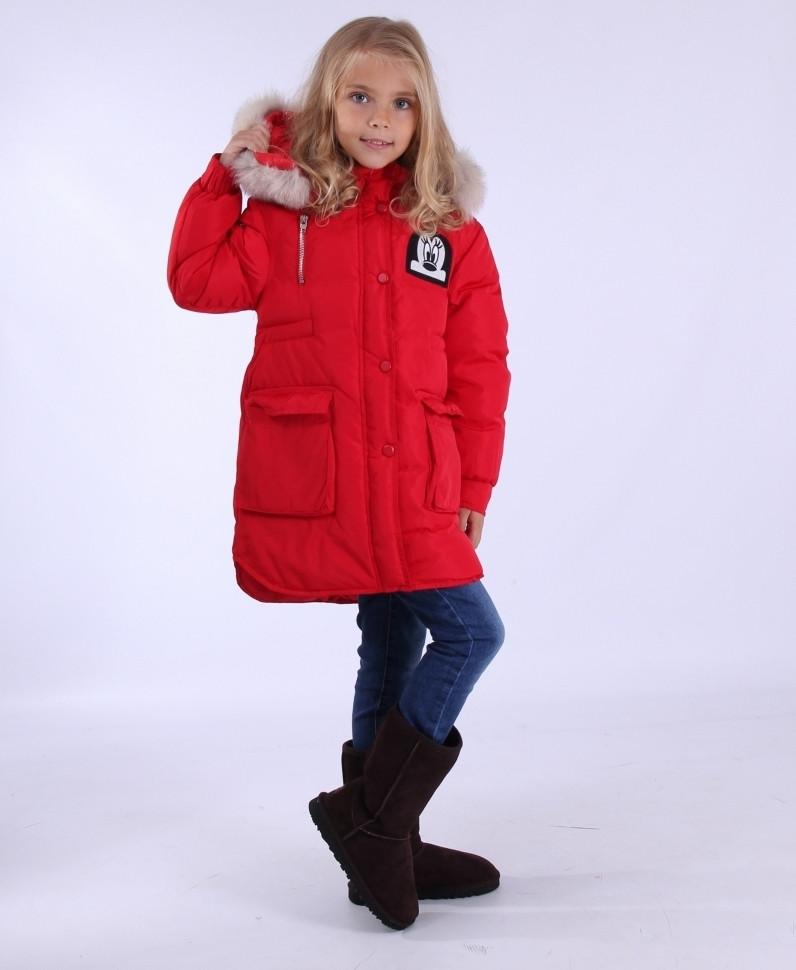 """Куртка зимова для дівчинки """"Mickey Mouse Wanted"""""""