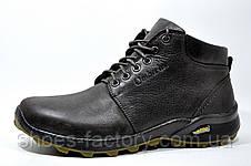 Кожаные мужские ботинки Ботус, зимние (Brown), фото 2