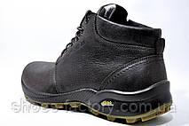 Кожаные мужские ботинки Ботус, зимние (Brown), фото 3