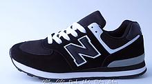 Кроссовки копия New Balance 574 черные