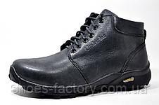 Кожаные мужские ботинки Ботус, зимние (Black), фото 2