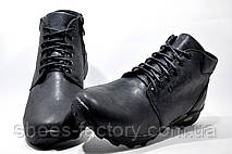 Кожаные мужские ботинки Ботус, зимние (Black), фото 3