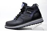 Мужские зимние ботинки Splinter, кожа (Dark Blue)