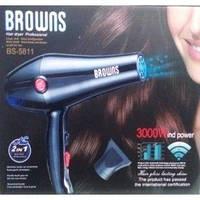 Фен для волос мощный Browns BS-5811
