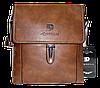 Мужская сумка через плечо из искусственной кожи коричневого цвета CМ-71 (Б)