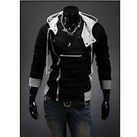 Мужская  куртка толстовка   с капюшоном  3 цвета (Черный), фото 1