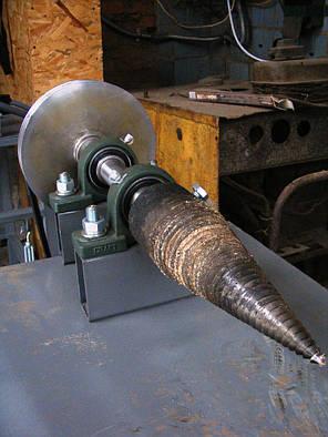 Дровокол винтовой,  3-х фазный электродвигатель 3 кВт, 1500 об/мин, фото 2