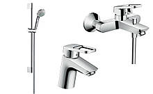 Logis Loop  Набор смесителей для ванны ,умывальник 70