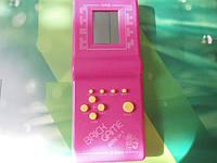 Игровая приставка BRICK GAME Тетрис розовый