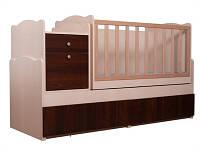 Детская кровать-трансформер 5в1 Вальтер, маятник