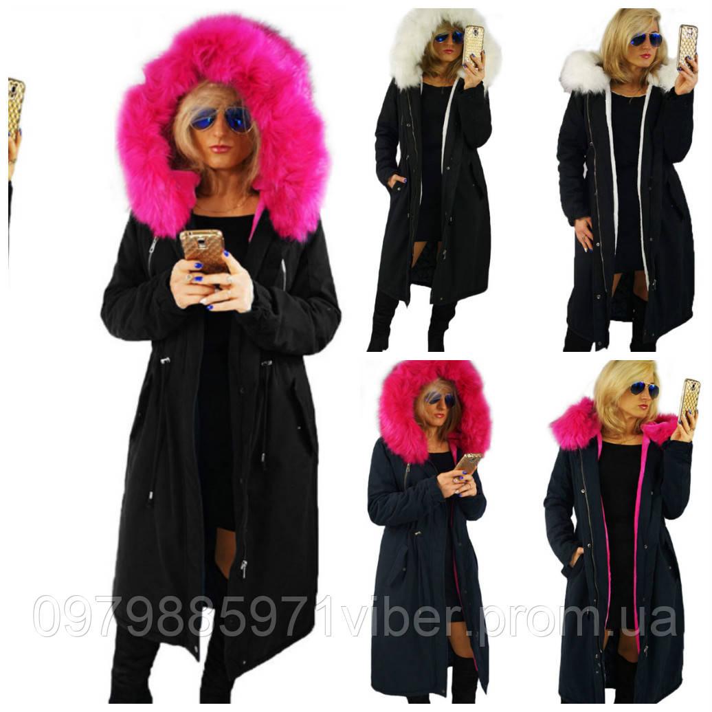 beb1d0a9f1b Женская зимняя длинная куртка парка