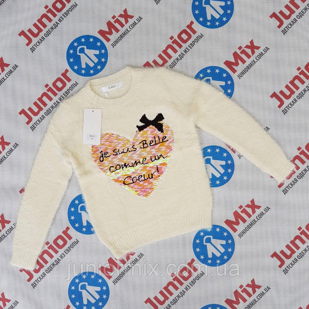 Детская ангоровая модная кофта для девочек оптом. ИТАЛИЯ