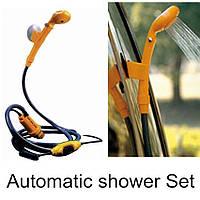 Автомобильный душ портативный (Automobile Shower Set) с питанием от прикуривателя