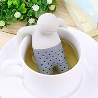 Силиконовый заварник для чая Мистер Чай, фото 1