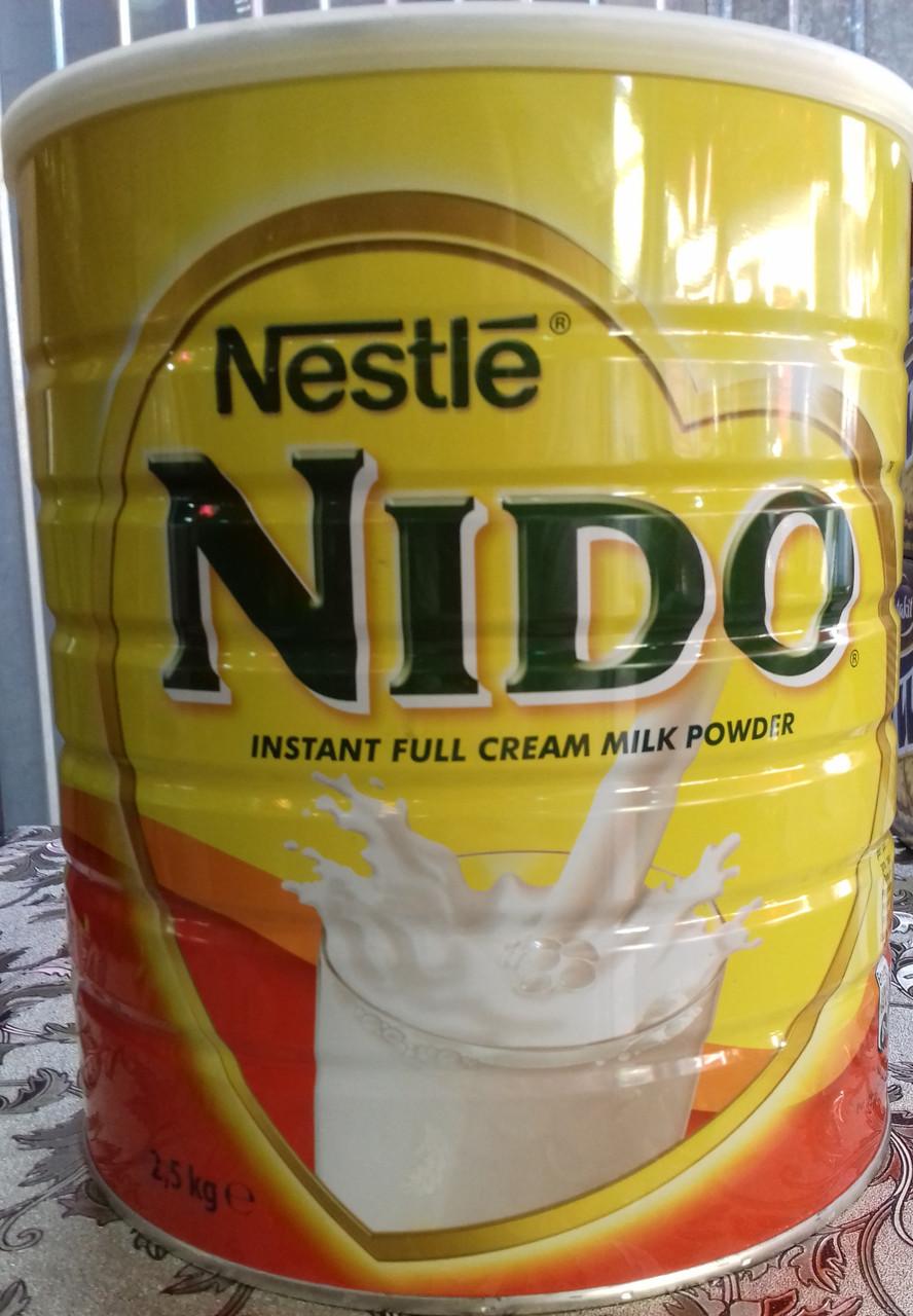 Сухое молоко Nido (Нидо), 2,5 кг