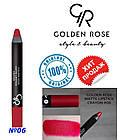 Помада-карандаш Golden rose crayon №6, фото 2