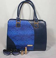 Стильная женская яркая сумка для деловой женщины