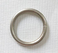 Кольцо обычное д. 16 мм, сатин