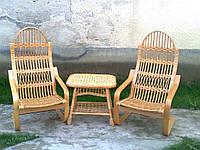"""Кресла """"лягушки"""" и стол"""
