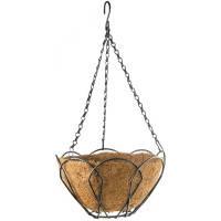 Подвесное кашпо, 25 см, с кокосовой корзиной// PALISAD