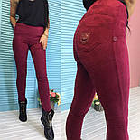 Замшевые красивые лосины (2 цвета), фото 3
