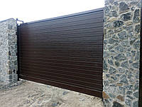 Откатные  ворота ADS-400 алюминиевые