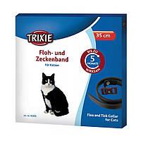 Trixie TX-4000 ошейник против блох и клещей для котов 35см