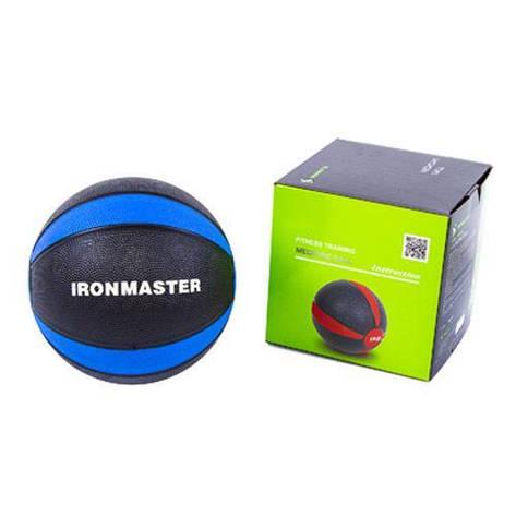 Медбол IronMaster 4 кг d=21 см IR97801F-4, фото 2