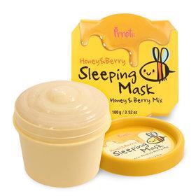 Ночная маска с медом и лесными ягодамиPrreti Honey & Berry Sleeping Mask, 100 мл