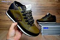 Мужские ботинки+кроссовки New Balance зеленые