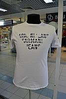 Мужская футболка ARMANI JEANS белая