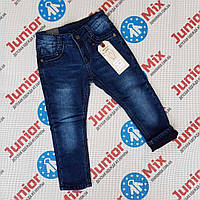 Детские теплые джинсы для мальчиков оптом  AnGel.
